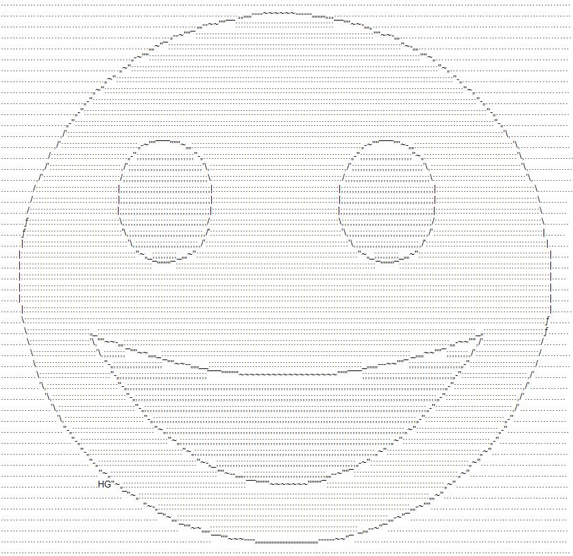 Smilies ascii List of